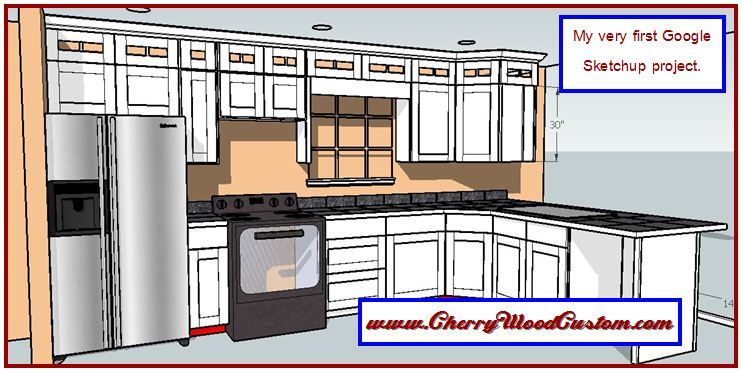 kitchen cabinet sketchup 2