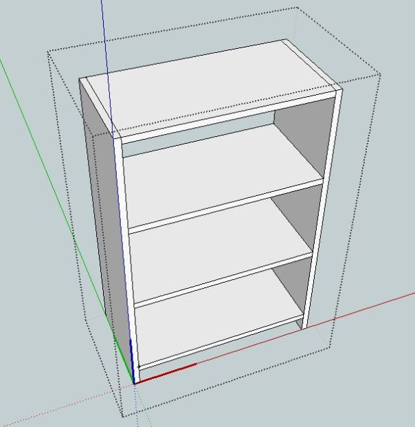Kdpn woodworking plans in google sketchup for Plan maison google sketchup