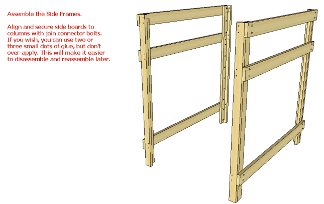 PDF Plans Twin Over Queen Bunk Bed Plans Download bench ...