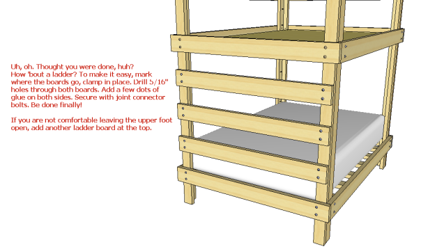 DIY Plans Build Bunk Bed Ladder Wooden PDF wood lathe tool holder ...