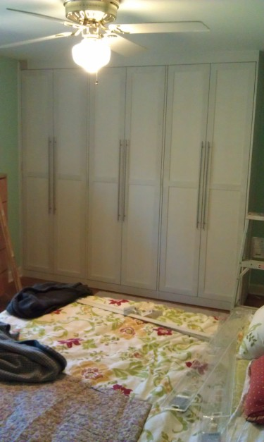 custom built-in wardrobes add value to rooms